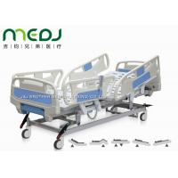Wholesale Electric Control Medical Hospital Beds MJSD04-08 With 4 - Section ABS Guardrail from china suppliers