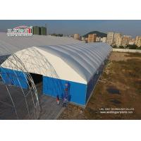 Best Metal Frame Structure Industrial Storage Tents with Thermo PVC Roof Cover wholesale