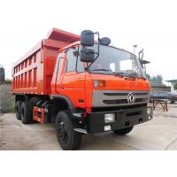 Wholesale Dongfeng 6 X 4 Heavy Duty Dump Truck 10 Wheels Tipper Truck For Construction Material Transportation from china suppliers