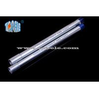 Wholesale Galvanized Steel BS4568 Conduit / BS4568 TUBE / GI PIPE With Protection Cap from china suppliers