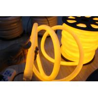 Wholesale hot sale decorative yellow 24v 360degree round led neon flexible lights from china suppliers
