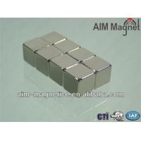 Buy cheap Sintered Permanent Neodymium Magnetic Cube from wholesalers