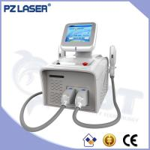 China PZ LASER 2 treatment applicators portable hair removal shr ipl for sale