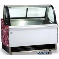 1200mm Ice Cream Showcase Freezer Tempered Glass With Transparent Conducting for sale