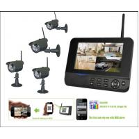 Best HD Digital Night Vision Wireless Surveillance Camera Systems Real Time Monitoring wholesale