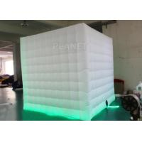 Wholesale 8 Ft Inflatable Cube Photo Booth UV Resistant PLT - 025 2 Years Warranty from china suppliers