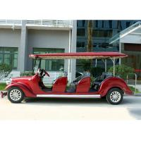 Hotel Shuttle Classic Golf Cars , Street Legal Electric Vehicles 48V Battery Voltage for sale