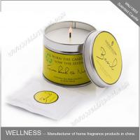 Wholesale Essential Oil Colorful Scented Tin Candles Handmade With Customized Fragrance from china suppliers