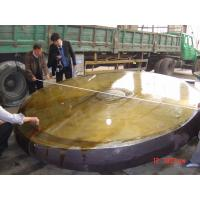 Heavy Steel Plate Forged Disk Super Alloy 300mm - 3000mm Width