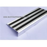 Wholesale Replaceable Aluminum Non Slip Stair Treads Anodized Shiny Silver from china suppliers