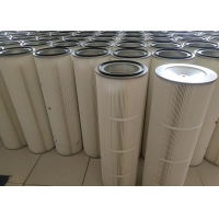 Wholesale Custom Made Air Compressor 0.3microns Dust Cartridge Filter from china suppliers