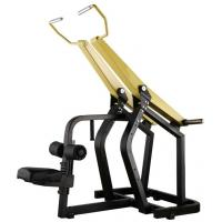 Wholesale Professional Yellow Hammer Strength Plate Loaded Gym Equipment / Pull Down Machine 152kg from china suppliers