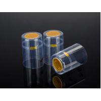 pvc capsule capsules caps cap heat shrinkable wine transparent tear-off capsule pvc cap capsule