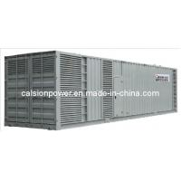Wholesale 50Hz 1000kVA Cummins Containerized Generator Set (C1000CS) from china suppliers
