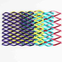 Wholesale A6063 Colorful Powder Coating Expanded Aluminum Mesh For Curtain Wall from china suppliers