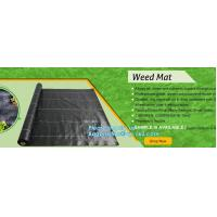 Wholesale pp weed mat organic agricultural plastic mulch, recyclable weed barrier,PP ground mat /concert crowd control barrier wee from china suppliers