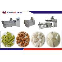 Wholesale Slanty Bar Twin Screw Extrusion Snacks Food Machinery Fully - Automatic from china suppliers