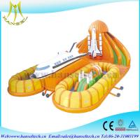 Wholesale Hansel good sale newest inflatable castle fun city  for commercial from china suppliers