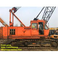 China Hydraulic Systems HITACHI Lattice Boom Crawler Crane 35 Ton SGS Approved on sale