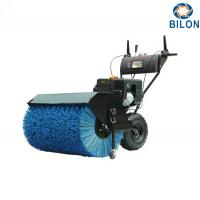 China Electric Start Snow Sweeper Machines 15HP Semi Automatic Gasoline Power Snow Sweeper on sale