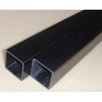 Buy cheap High quality carbon fiber tubes with 3K twill finished surfacetreatment MATTE from wholesalers