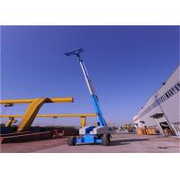 Wholesale Industrial Grade Telescoping Boom Lift , Crawler Boom Lift Easy Maintain Safe from china suppliers