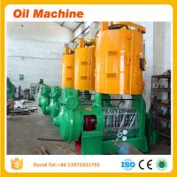 Wholesale 1TPD to 300TPD With CE for refining cottonseed oil cotton seed oil refining equipment mill from china suppliers
