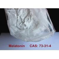 Wholesale Safest Pharmaceutical Raw Materials Melatonin Powder Improving Sleep / Preventing Aging from china suppliers