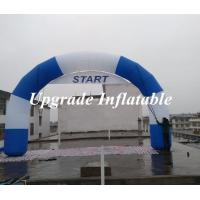 2015 new desgin round Inflatable start line and finish line arch with removable