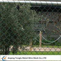 China Chain Wire Fencing|Chainlink or Chainmesh Made by Steel Wire 25mmx2.0mm Specification for sale