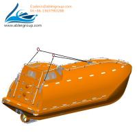 Wholesale 6.7 Meters Free Fall Lifeboats 33 Persons and Rescue Boat 6 Persons For Sale CCS Certificate from china suppliers