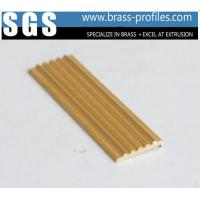 China Brass Anti-slip Strip For Stair Copper Extruding Flooring Sheet on sale