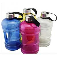Buy cheap 2.2L BPA Free PETG Plastic Water bottle,plastic sport water jug bottle with handle from wholesalers