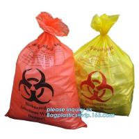 Wholesale disposable autoclave sterilization biohazard bags, Heavy duty safety plastic biohazard infectious waste bag medical wast from china suppliers