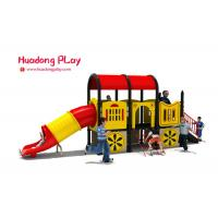 China Nontoxic Plastic Outdoor Playset Traditional Car Shape CAD Instruction for sale