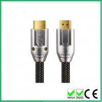metal shell cable H DMI to H DMI 2.0 V HD support 4k 2k 3D 2016p goldend plated with thernet