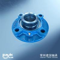 Best High Speed Round Flange Bearing Pillow Block 55mm UELFC211 / HCFC211 wholesale