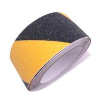 China Yellow And Black Abrasive Safety Slip Tape Roll 45m Non Skid Tape on sale