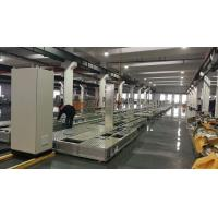 Conveyor Length 62m Switch Gear Production Line Surface Treatment Power Printing for sale