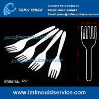 Wholesale PP White 6 inch Disposable plastic fork for Western food/ fruit cake moulding from china suppliers