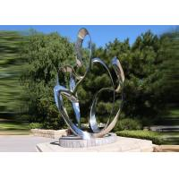 Wholesale Custom Size Stainless Steel Sculpture For City Decoration OEM / ODM Acceptable from china suppliers