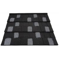 Wholesale Recycled Stone Coated Roof Tile / Wave Tile In Red Black / Coffee Brown from china suppliers