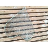China 4 / 3 / 2 Mm Beveled Edge Picture Frame Glass Tempered Technical Curve Flat on sale