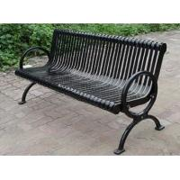 Wholesale Powder Coat / Galvanized Metal Garden Chairs 3 Seater Garden Bench from china suppliers