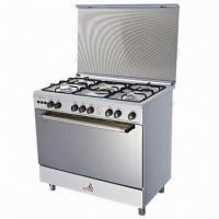 Wholesale Gas oven with white coating body from china suppliers