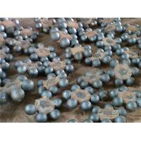 Professional Custom Forged Steel Grinding Balls / Steel Bearing Balls Hardness > 48HRC Steel with Chrome