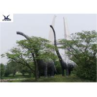 Amusement Facility Animatronic Lifelike Animal Statues Moving Dinosaur Models