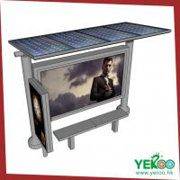 Wholesale Stop Shelter Outdoor Aluminum Scrolling Lightbox from china suppliers