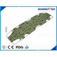 Wholesale BM-E3007 Medical Equipment Emergency Rescue Portable Military Green 4 Folding Aluminum Alloy Ambulance Stretcher from china suppliers