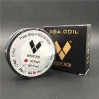 Best Vapor TECH Pure Nickel Ni200 Wire Temperature Control Wire 30 Feet 22 24 26 28 30 32 Gauge wholesale